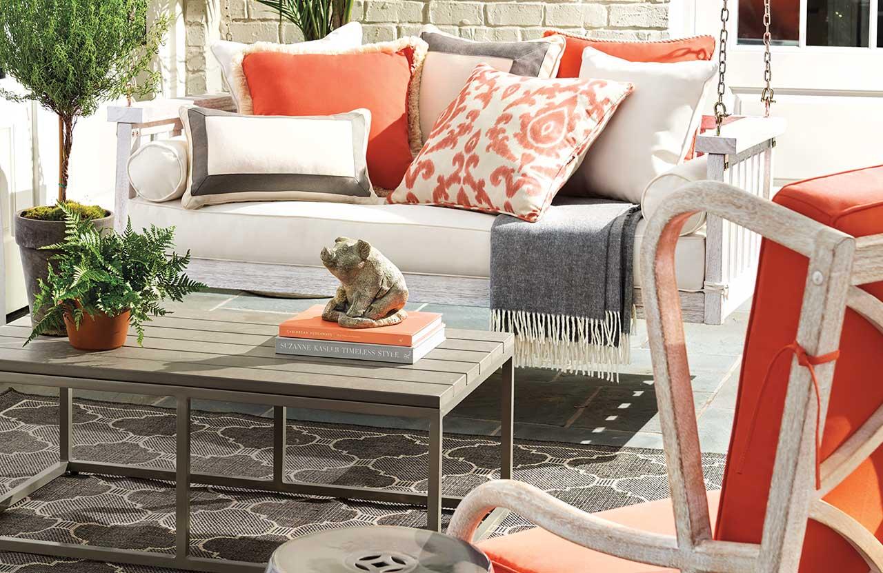 Summer Style with Sconset Landing & Ballard Designs Natick